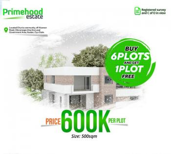 Buy 6 Plot Outrightly and Get One Free, Primehood Estate, Ibadan, Oyo, Mixed-use Land for Sale