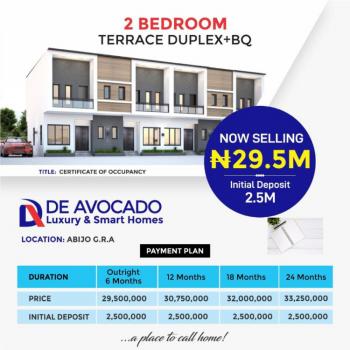 Luxury 2 Bedrooms Terraced Duplex with Bq, De Avacado Luxury & Smart Homes Abijo Gra, Ibeju Lekki, Lagos, Terraced Duplex for Sale