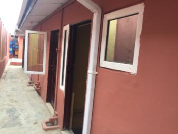 New Room Self Contained  with Wardrobe, Off Oyediran Okeira, Ogba, Ikeja, Lagos, Flat for Rent