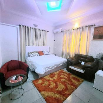 Testfully Furnished One (1) Bedroom Studio Apartment with Kitchen, 25, Alhaji Abdur Street, Idado, Lekki, Lagos, House Short Let