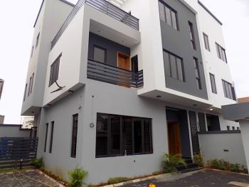 4 Bedroom Semi Detached Duplex with Bq on 2 Floors in Gated Street, Lekki Phase 1, Lekki Phase 1, Lekki, Lagos, Semi-detached Duplex for Sale