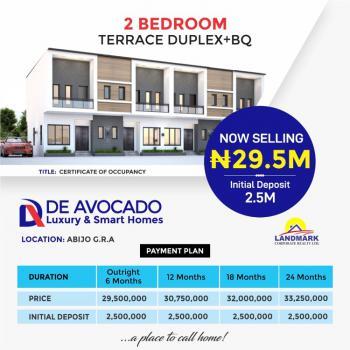 2 Bedroom Terrace Duplex with a Bq, Abijo, Lekki, Lagos, Terraced Duplex for Sale
