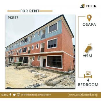 4-bedroom Semi Detached Duplex, Osapa, Lekki, Lagos, Semi-detached Duplex for Rent