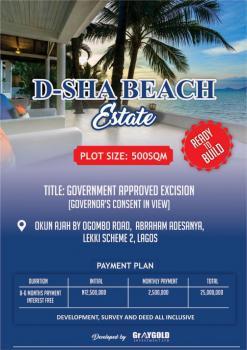 100% Dry Land Close to The Attica Beach and Urban Prime Estate, D Sha Beach Abraham Adesanya, Ajah, Lagos, Residential Land for Sale