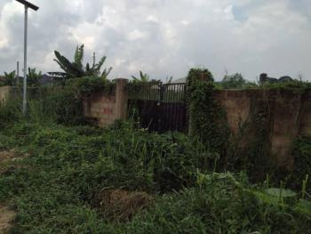 Fenced Land in Elegant Neighborhood, Osongama Estate Off Noah Street, Uyo, Akwa Ibom, Land for Sale