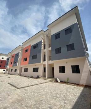 Beautiful 4 Bedrooms Terraced Duplex with Bq, Ikate, Lekki, Lagos, Semi-detached Duplex for Rent