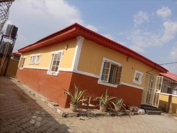 Decent 3 Bedroom Semi Detached Bungalow in a Secured Estate, Elsalem Estate, Lugbe District, Abuja, Semi-detached Bungalow for Rent