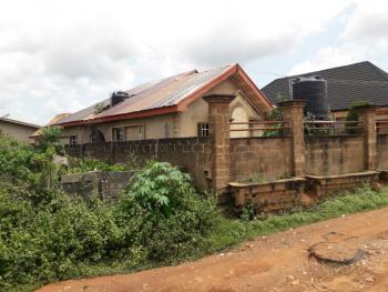 Semi-detached 3/2 Bedroom Flat and 2bedroom Bq, Akindele Street, Off Madojutimi Road, Abiola-way, Abeokuta South, Ogun, Semi-detached Bungalow for Sale