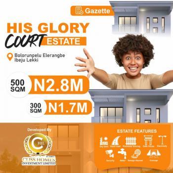 100% Dry Land, with Governor Gazette, Elerangbe, Ibeju Lekki, Lagos, Mixed-use Land for Sale
