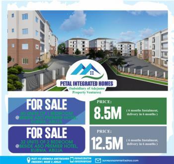Newly Built Block of Flats, Beside Aso Premier Hotel, Kubwa, Abuja, Flat for Sale