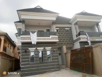 Luxury 4 Bedrooms Semi Detached Duplex with Maids Room, Labak Estate, Oko-oba, Agege, Lagos, Semi-detached Duplex for Sale