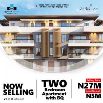 2 Bedroom Apartment Plus Bq, Fara Park Estate, The Signature, Abijo, Lekki, Lagos, Flat for Sale