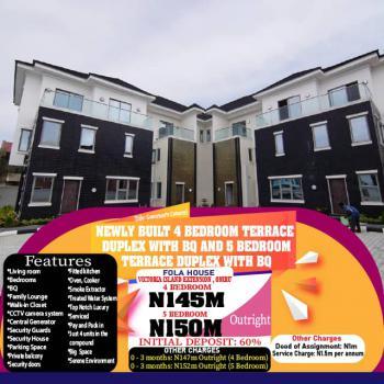 Newly Built  5 Bedroom Terrace Duplex with Bq, Victoria Island Extension, Victoria Island (vi), Lagos, Terraced Duplex for Sale