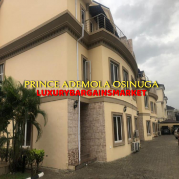 Direct Paying Clients Only - Well Sized 4 Bedroom Terrace House + Bq, Off Onikoyi Road, Ikoyi, Lagos, Terraced Duplex for Rent