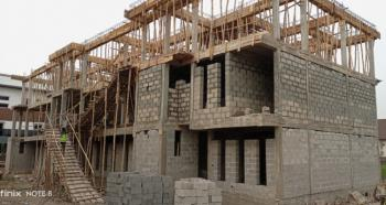 Luxury 5 Bedroom Terrace Duplex + Bq. Off Plan., Mini Estate  Off Gbangbala Street, Ikate Elegushi, Lekki, Lagos, Terraced Duplex for Sale