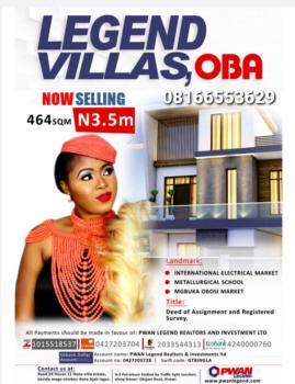 Legend Villas Estate, Anambra, Anambra, Mixed-use Land for Sale