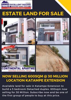 Estate Land, Katampe Extension, Katampe, Abuja, Residential Land for Sale