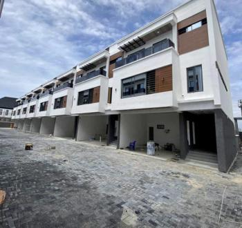 Top Notch Finished & Serviced 4 Bedroom Terrace with a Room Bq, Ologolo, Lekki, Lagos, Terraced Duplex for Sale