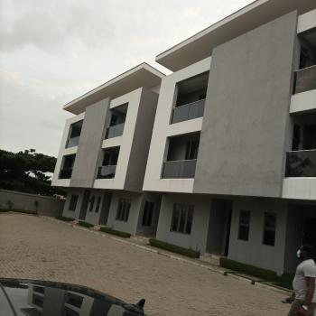 Newly Built 4 Bedroom Terrace Duplex with Bq, New Road/spg Road Chevron, Atlantic View Estate, Lekki Phase 2, Lekki, Lagos, Terraced Duplex for Rent