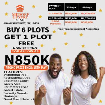 Plot of Land Now on Promo. Buy 6 Get 1 Free, Epe, Lagos, Mixed-use Land for Sale
