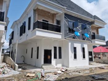 Newly Built 4 Bedrooms Semi- Detached Duplex + Bq, Off Chevron Tollgate, Lekki Phase 2, Lekki, Lagos, Semi-detached Duplex for Sale