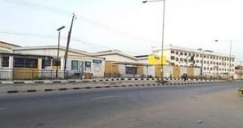 Vacant Redevelopable Massive Warehouse with Supporting Structures, Kudirat Abiola Way, Oregun, Ikeja, Lagos, Warehouse for Sale