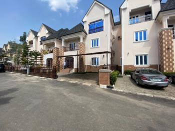 a Uniquely Delivered Gated Town House, Guzape District, Abuja, Semi-detached Duplex for Sale