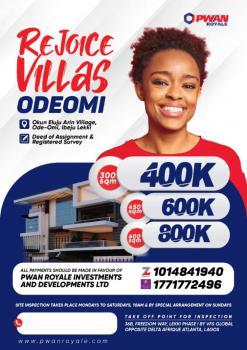 Land, Rejoice Villas, Ode Omi, Ibeju Lekki, Lagos, Mixed-use Land for Sale