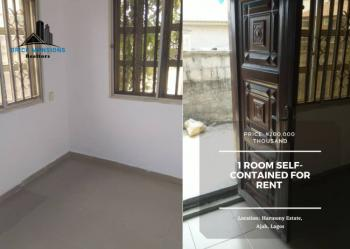 1 Room Self-contained, Harmony Estate, Ajah, Lagos, Self Contained (single Rooms) for Rent