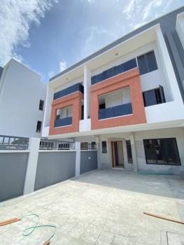 4 Bedroom Terraced Duplex with Self-compound and a Room Bq, Ikate Elegushi, Lekki, Lagos, Terraced Duplex for Sale