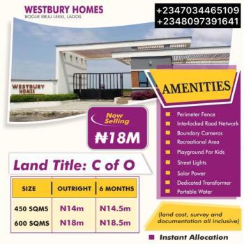 Buy & Build Dry Land Estate, Westbury Homes, Inside Beechwood Estate, Bogije, Ibeju Lekki, Lagos, Residential Land for Sale