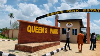 Land Surrounded By Other Estates, Right Here in a Strategic Location, Queens Park Estate Phase 2, Mowe Ofada, Ogun, Residential Land for Sale