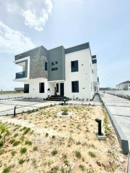 Massive Highly Spacious 4 Bedrooms Semi Detached Duplex Newly Built, Cowrie Creek Estate, Ikate Elegushi, Lekki, Lagos, Semi-detached Duplex for Sale