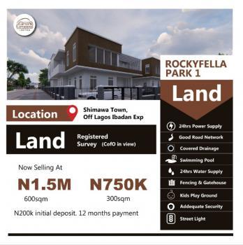 Plots of Land, Hill City Park Estate Shimawa, Mowe Ofada, Ogun, Residential Land for Sale
