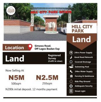 500 Sqm Plot of Land, Hill City Park Estate, Mowe Ofada, Ogun, Residential Land for Sale