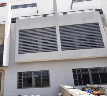 Partially Serviced & Newly Built 4 Bedroom Semi-detached Duplex Wit Bq, Lekki Phase 1, Lekki, Lagos, Semi-detached Duplex for Rent