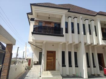 Serviced & Luxuriously Finished 4 Bedroom Semi Detached Duplex with Bq, Oral Estate, Lekki, Lagos, Semi-detached Duplex for Rent