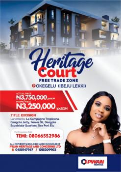 Land (buy and Build), Heritage Court Okegelu, Lekki Free Trade Zone, Lekki, Lagos, Mixed-use Land for Sale