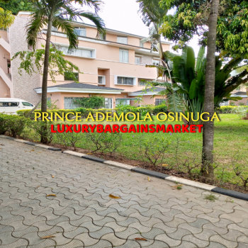 Classy & Serene 3 Bedroom Townhouse +2 Room Bq +large Private Gardens, Central Ikoyi, Ikoyi, Lagos, Terraced Duplex for Rent