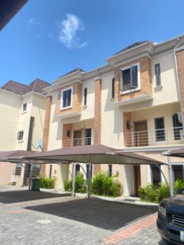 Luxury 4 Bedrooms Terraced Duplex with Bq, Chevron, Lekki, Lagos, Terraced Duplex for Rent