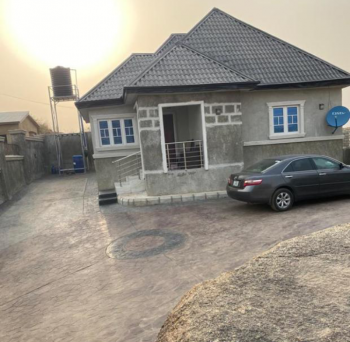 Well Built 1 Bedroom Bungalow with Full Pop with Properties, Behind Aym Shafa, Dutse, Abuja, Detached Bungalow for Sale