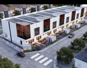 Newly Built 4 Bedroom Terrace Duplex with B/q, Ikate, Lekki, Lagos, Terraced Duplex for Sale