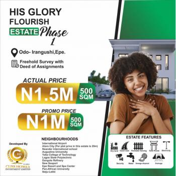 Affordable Land at Luxury Estate Suited for Residential and Commercial, Odo-iragunshi, Epe, Lagos, Mixed-use Land for Sale