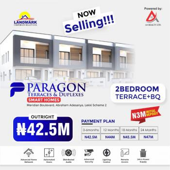 2 Bedrooms Terrace with a  Bq, Paragon  Terraces and Duplexes, Abraham Adesanya, Okun-ajah, Ajah, Lagos, Terraced Bungalow for Sale
