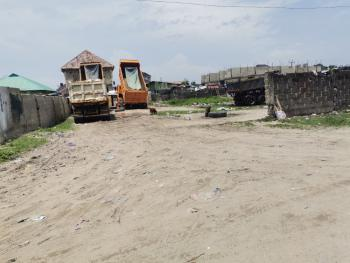 2 Plots of Dry Land Partly Fenced, Off Orchid Hotel Road, Lafiaji, Lekki, Lagos, Residential Land for Sale