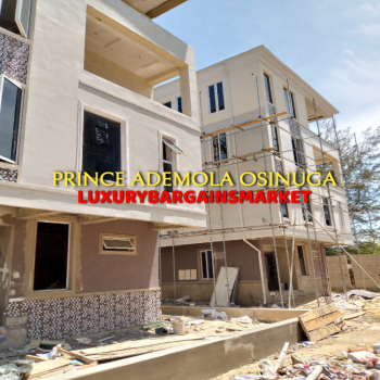 Fresh Newly Built 5 Bedroom Detached House + Elevator in a Mini Estate, Banana Island Estate, Banana Island, Ikoyi, Lagos, Detached Duplex for Sale