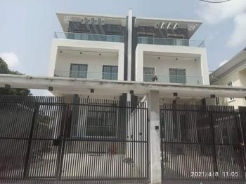 Newly Built 5 Bedroom House with 2 Bq., Off 2rd Avenue, Old Ikoyi, Ikoyi, Lagos, Semi-detached Duplex for Sale