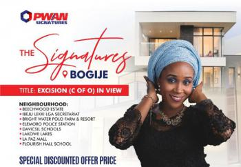 Buy and Build Land with Good Title of Excision, The Signatures Estate, Lekki-epe Expressway, Bogije, Ibeju Lekki, Lagos, Mixed-use Land for Sale