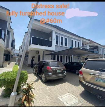 Serviced 4 Bedroom with Bq., Furnished & 24hours Electricity., Ikota, Lekki, Lagos, Semi-detached Duplex for Sale