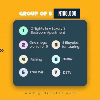 Blus Apartment, Flat 10 Ben Nwowu Street, Lakowe Lakes Km 35 Lekki-epe Expressway Lako, Lakowe, Ibeju Lekki, Lagos, Flat Short Let